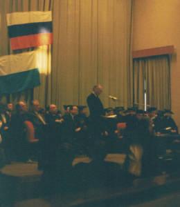 Ehrungspromotion von KHS in Moskau 1996
